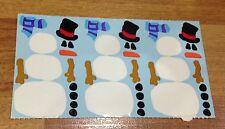Mrs Grossman (Grossman's) Stickers - Build-a-Snowman