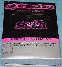 T-shirt manche longue Thermique Alpinestars Stella Tech Road Noir Taille L