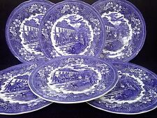 "TUDOR platter PLATE horse coach inn pub TAVERN large steak 12.5 "" / 31.5 cm x 6"
