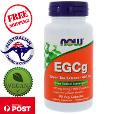 Now Foods - Green Tea Extract EGCg 400 mg - 90 Vegan Caps
