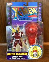 Omega Red Vintage X-Men Classics Action Figure New Toybiz 2000 Marvel Comics