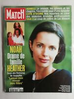 N1426 Magazine Paris-Match N°2802 30 janv 2003 Noah drame de famille Heather