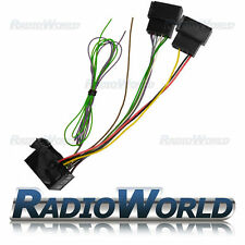 VW Audi RCD200 MFD2 RNS2 Retro Fit Adaptor Wiring Harness Lead ISO to Quadlock