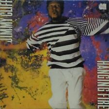 JIMMY CLIFF 'HANGING FIRE' US IMPORT LP PROMO COPY