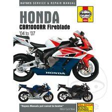 HONDA CBR1000RR FIREBLADE (04-06) Haynes Repair Manual 4604