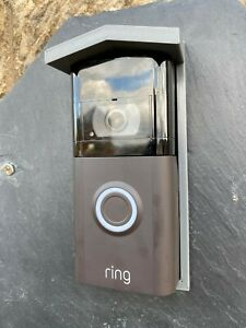 Rain / Sun Cover for Ring Video Doorbell 2 / 3 - Grey