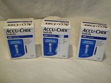 Accu-Chek Softclix Lot of 3/300 Glucose Lancets Monitor Exp. 2022/2023