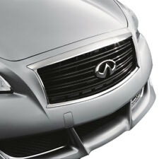 New Oem Infiniti M37 M56 Factory Midnight Black Grille - Emblem Not Included - (Fits: Infiniti)