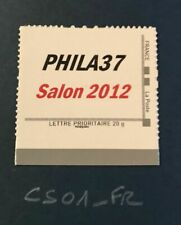 France Collector Timbre Neuf ** Luxe PHILA 37 Salon Philatélique 2012