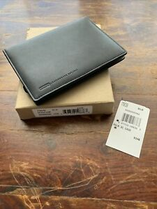 NEW Black Leather COACH Palm 3C Case Leatherware Phone