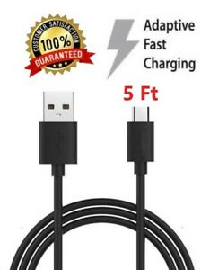 5Ft Micro USB Charge Cable Charger Cord for Amazon Kindle Fire HD 7/8 Tablet