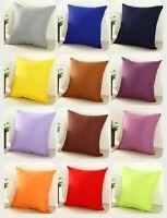 Housse De Coussin décoratif Couleur au choix Mélangé Coton 40x40,45x45,50x50  Zi
