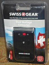 SWISS GEAR DUAL WATTAGE CONVERTER TRAVEL CONVERTER MSRP $39.99 NEW SEALED NIB