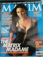 Vintage Maxim Magazine June 2003 Number 98 Monica Bellucci postage free!