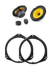 JL Audio C1-650 ANTERIORE componente Altoparlante Aggiornamento Per BMW X5 Mk1 E53 2000-2006