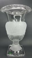 "RARE Shannon Crystal Athena Collection 12"" Vase 24% Lead Crystal by Godinger NIB"