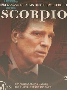 Scorpio Burt Lancaster Alain Delon DVD  Like New