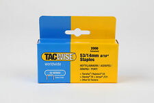 14mm Tacwise Staples type 53   upholstery supplies