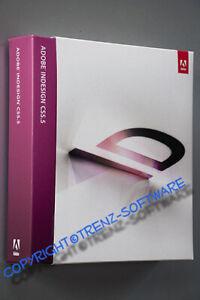 Adobe Indesign CS5.5 Macintosh - deutsch Box mit DVD - incl. MwSt