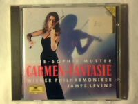 JAMES LEVINE Carmen-fantasie cd ANNE-SOPHIE MUTTER DGG COME NUOVO LIKE NEW!!!
