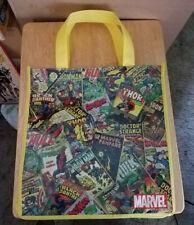 Marvel Comic Book  Reusable Shopping Bag Tote, NEW!!!