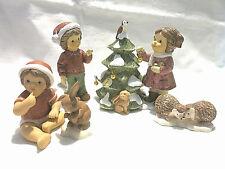 Goebel Weihnacht Engel N & M Mein Tannenbäumchen Igel Häschen Winterwald