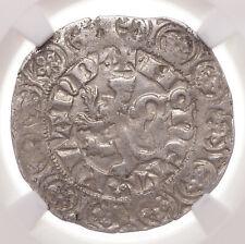 BELGIUM, Flanders. Louis de Mâle. 1346-1384. AR Gros Compagnon, NGC AU50