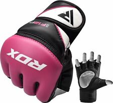 RDX Ladies Boxing MMA Gloves Grappling Fight Punching Bag Muay Thai Pad CA