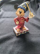 Walt Disney Showcase Collection Mickey Mouse Touch of Magic Jim Shore Enesco Pre