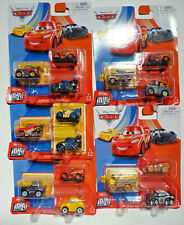 Disney Pixar Cars 3 Pack Metal Mini Series Set of 5
