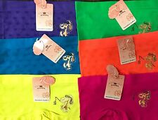 "Lot of 6 pair Girl's Seamless Boxer Underwear ""Snoopy""  Medium Multi Color"