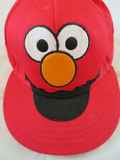 Sesame Street Red Elmo Hat Ball Cap Adult size S/M  age 14 or older