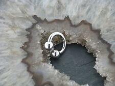 TITAN Hufeisen Piercing Ohrring Intim TRAGUS Septum Brust Lippe Nase Helix 1,6mm