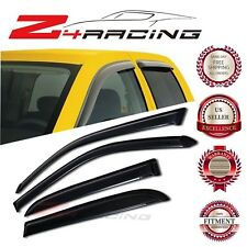 For 04-06 Toyota Tundra Double Cab Vent Shade Guard Window Visors Deflector 4PC