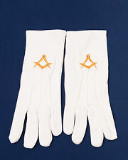 Lodge Craft Lodge White Gloves Large (Free Delivery)
