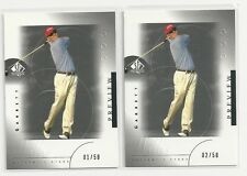 2 2001 UD SP Preview Garrett Willis Rookies RED 01/50 02/50 First One!