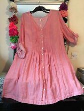 Monsoon Cotton Round Neck 3/4 Sleeve Dresses for Women