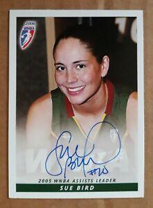 Sue Bird 2006 Rittenhouse WNBA Autograph Card