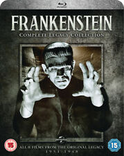 Frankenstein Complete Legacy Collection 8 Film Blu-ray Set Universal Monsters