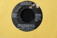 Daryl Hall & John Oates All American Girl b/w Some Things. . . 45-rpm Record