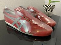 Onitsuka Tiger Mexico 66 Slip On Red Mens Size 11 Euro 45 D3K0N Same Day Ship