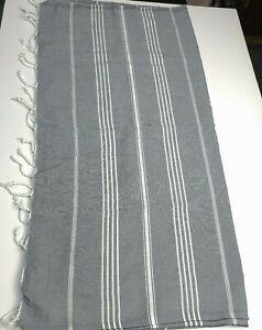 ZigZag Weave Turkish Towel Peshtemal Beach Fouta Towel Turkey Hammam Towel New
