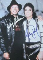 Michael Jackson / Smokey Robinson Autographed Signed 8x10 Photo REPRINT