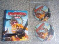 Dvd Dragon raiders of berk  part 2 disc only (208)