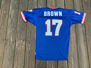 Vintage New York Giants Dave Brown Size 40 Jersey by Champion