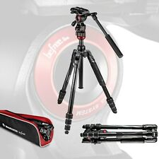 Manfrotto MVKBFRT-LIVE Befree Live Aluminum Video Tripod Kit Twist Leg Locks