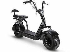 MotoTec Knockout 1000W 48V Electric Scooter - Black