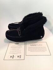 UGG Alena Black Moccasin Slipper Women's US sizes 5-11 NEW!!!