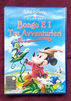 Dvd W. Disney Bongo e i tre avventurieri con ologramma tondo
