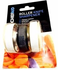ChefAid Roller Knife Sharpner Kitchen Handheld Blade Sharpening Handy Tool.